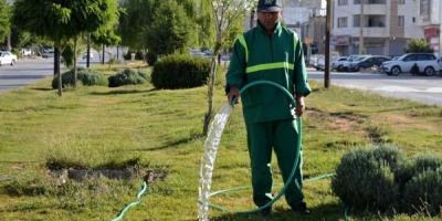نظارت بر وضعیت حقوق کارگران پیمانکار فضاهای سبز
