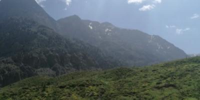 دریاچه «کوه گل» با پایان بهار خودنمایی میکند