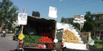 آزار بلندگوی وانتبارهای دستفروش در محلات قزوین