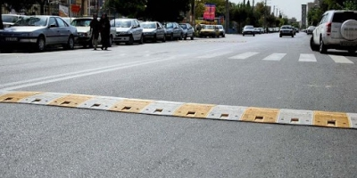 سرعتگیرهای شهرستانهای میناب حادثهساز است