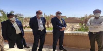 بازدید از مجموعه تاریخی خیرآباد؛ برنامهریزی برای توسعه صنعت گردشگری زرند
