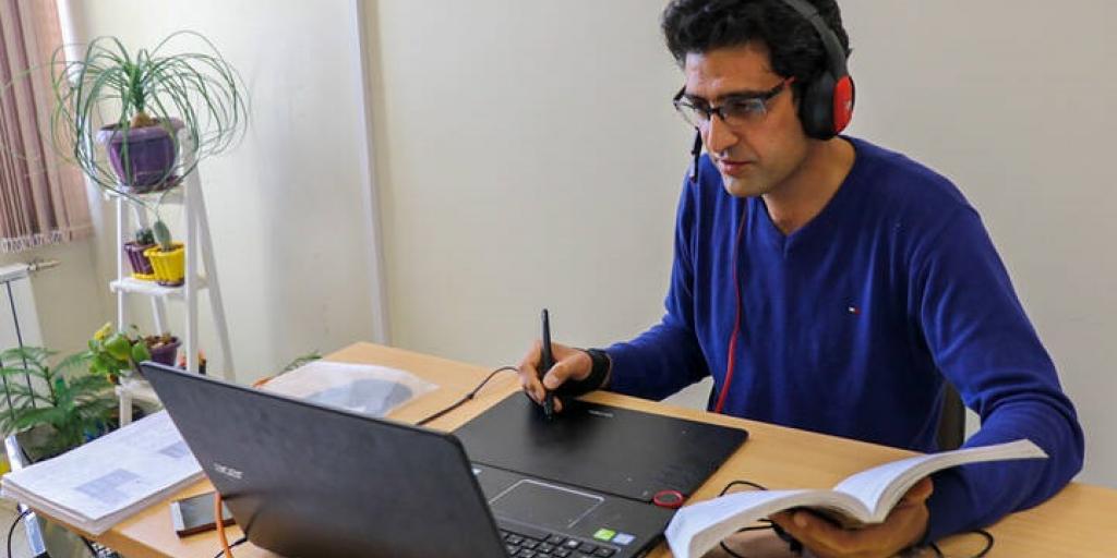 کمپین تغییر آییننامه امتحانات برخط وزارت بهداشت >         </div>         <div class=