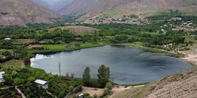 عدم تخریب محیط زیست دریاچه اوان در الموت