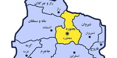 الحاق شهرستانهای هم سنخ به خراسانشمالی
