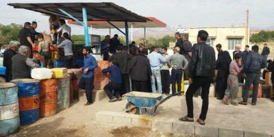 کمبود نفت در روستای غلامویس زنجان