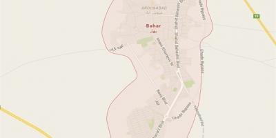 نقشه حریم سیاسی شهرستان بهار را اصلاح کنید