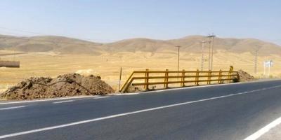 جاده تویسرکان - کنگاور ناایمن است