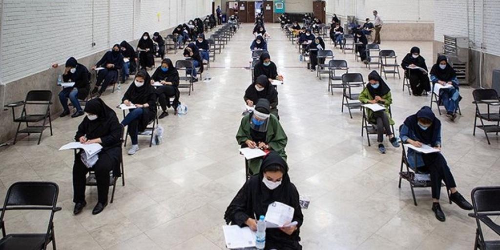 برگزاری تمامی آزمونها در موعد مقرر با رعایت اصول بهداشتی>         </div>         <div class=