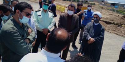 مراسم کلنگزنی تصفیه پساب واحدهای صنعتی شهر آببر