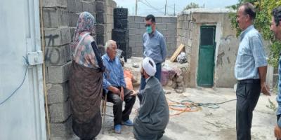 بازدید امام جمعه از روستای میرزاخانلو و بررسی مشکلات روستاییان