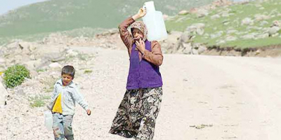 درخواست رفع مشکل کمبود آب در روستای زرامین سفلی