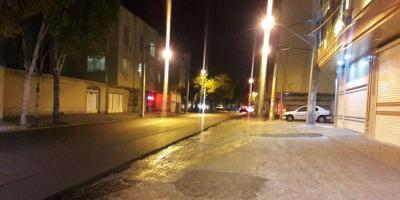درخواست روشنایی خیابانهای قاسمآباد مشهد