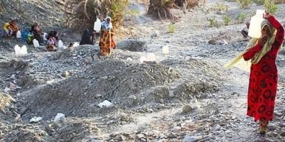 خشکی و بیآبی منابع کوه حیدر بشاگرد