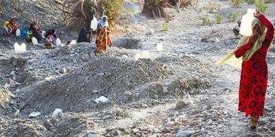 کلافگی مردم روستای کوه حیدر شهرستان بشاگرد بر اثر بیآبی