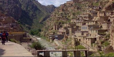پالنگان روستایی زیبا در کردستان
