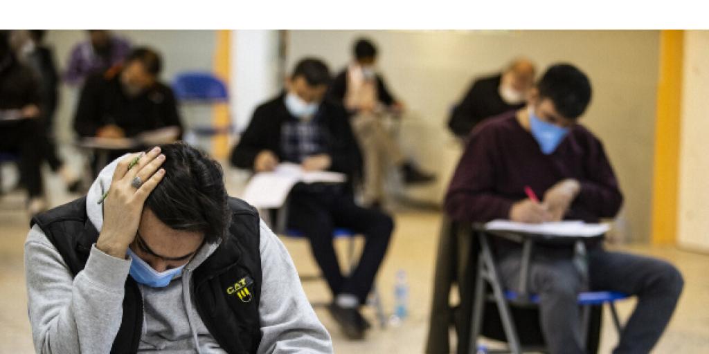 برای برگزاری امتحانات به فکر سلامتی دانش آموزان باشیم>         </div>         <div class=
