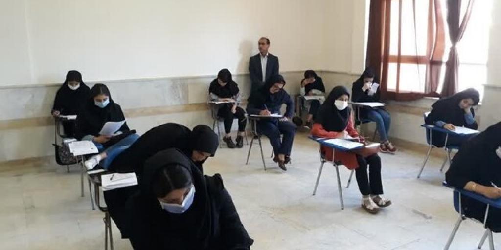 درخواست برای لغو امتحانات حضوری پایه نهم و دوازدهم >         </div>         <div class=
