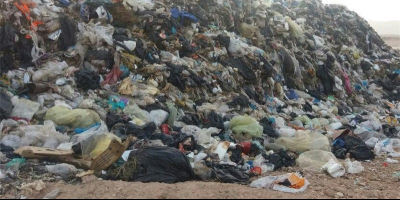 تخلیه انبوه زباله در بستر رودخانه هراز