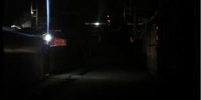 محله شیخ کلخوران اردبیل در تاریکی مطلق بیبرقی است