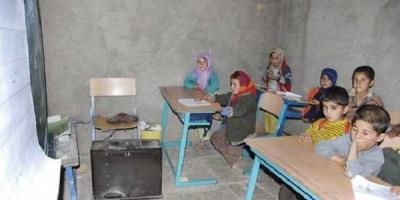 مدارسی بدون گرمایش استاندارد در روستاهای قروه