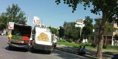 چرابه آلودگی میوه فروشهای جاده ماهدشت رسیدگی نمیشود؟