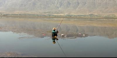 درخواست ممنوعیت شکار ماهی در تالاب بروجن
