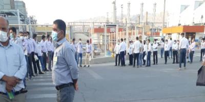 درخواست کارمنان پالایشگاه فجر جم برای رسیدگی به مطالبات