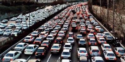 ترافیک خیابان دلگشابه میدان فردوسی کرمانشاه منتظر تدبیرمسئولین