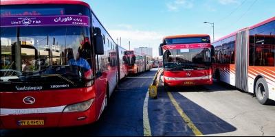 کرایه اتوبوسها بر پایه پیمایش مسافر محاسبه شود