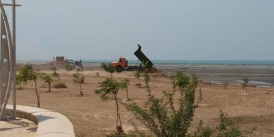 نه به زمینخواری در روستای هماگبالا در استان هرمزگان