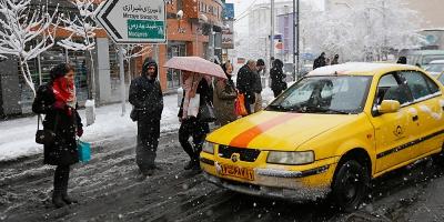 حل مشکل کمبود تاکسی و اتوبوس در روزهای برفی