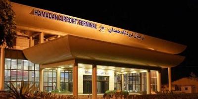 استفاده از ظرفیت فرودگاه همدان در پروازهای بینالمللی