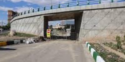 تقاطع خطرناک در زیرگذر کمربندی جنوبی اراک