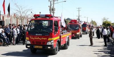 تجهیزات آتشنشانی اهر جوابگوی شهرستان نیست