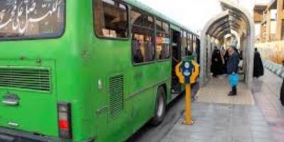 برای خلخال خط اتوبوس شهری قرار دهید