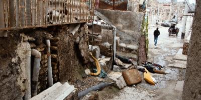 وضعیت اسفناک ساکنان حصیر آباد اهواز